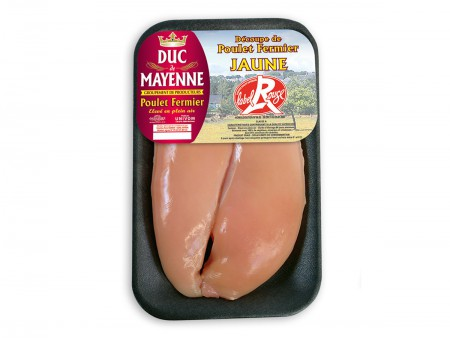 Filets De Poulet Label Rouge s/v