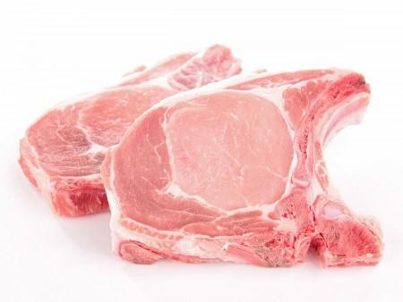 Côtes de Porc Echine par 6 - en barquette s/atm - LS