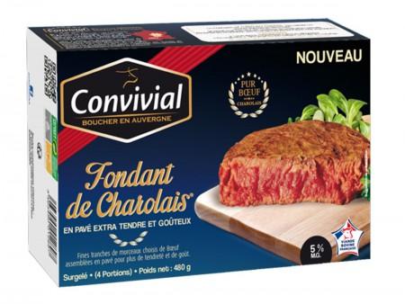 Fondant De Charolais et sa sauce au Bleu d'Auvergne par 2