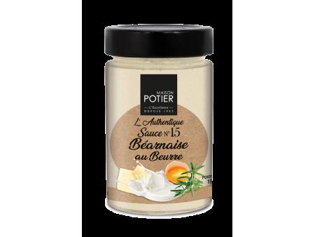 Sauce Béarnaise au Beurre - Christian Potier - 180gr