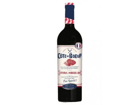 Cote de Bœuf - Vin de Pays d'Oc Rouge - 75CL