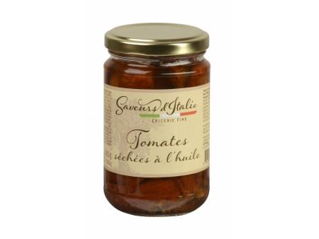 Tomates séchées à l'huile - Saveurs Italie - 31CL