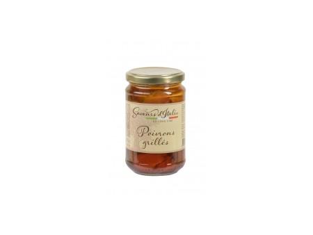 Poivrons grillés à l'huile - Saveurs Italie - 31CL