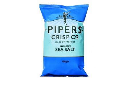 Pipers crips sea salt - 150gr