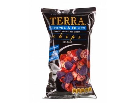 Chips Terra stripes blues - 110gr