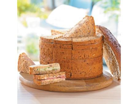 Bloc de foie gras de canard , 30% morceaux