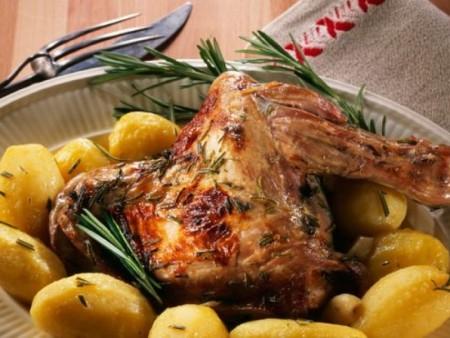 Cabri Corse Roti (le Quart) pour 2 personnes - NOEL- Rayon Traiteur