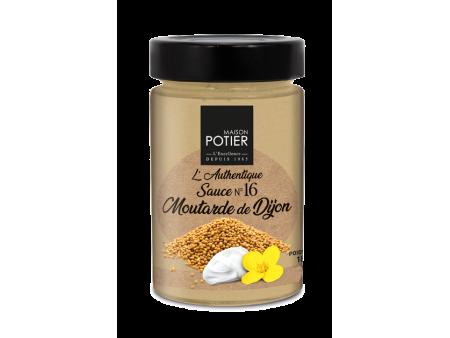 Sauce Moutarde - Christian Potier - 180 gr