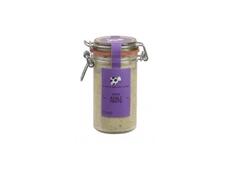 Sauce Aioli Pesto - La Vache qui regarde - 210gr
