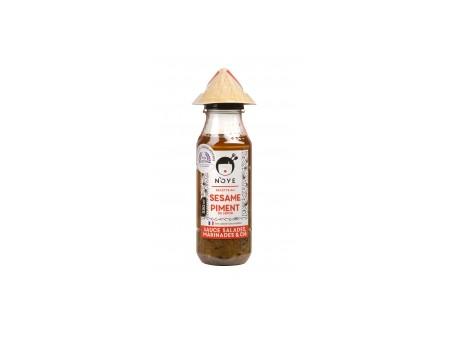 Sauce Vinaigrette N'OYE au Sésame et Piment du Japon - 330ML