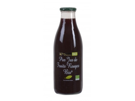 Pur Jus de 4 Fruits Rouges BIO JA - 100CL