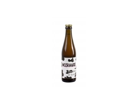 Bière NOIRAUDE blanche de Lorraine - 33CL