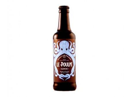 Bière blanche Le Poulpe BIO - 33CL