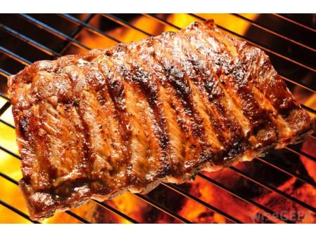 Plat de cotes de Porc (Travers ou Spare Ribs)